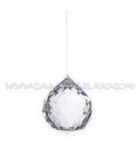 Bola ( Prisma ) Feng Shui Pequeña (4cm) de Cristal