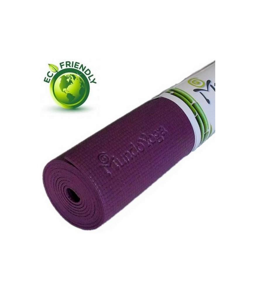 Esterilla Yoga 4mm - Berenjena