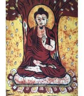 Tapiz Buda Batik - 1,10x0,75 m