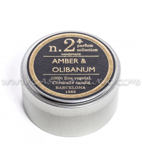 Vela Perfumada Amber &...