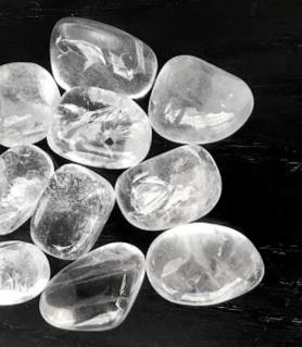 Rodado Cuarzo Cristal Grande